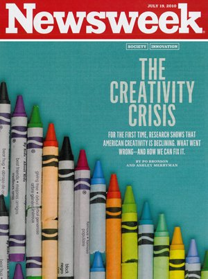 Newsweek- Creativity Crisis