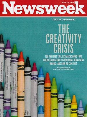 Newsweek- Creativity Crisis