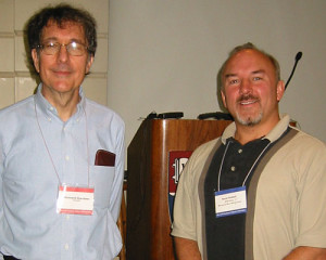 Kevin Corbett with Howard Gardner at Harvard University