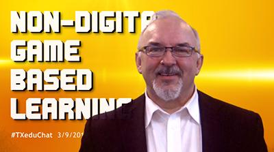 Kevin Corbett non digital games based learning