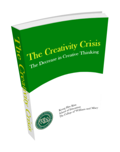 The Creativity Crisis-The Decrease in Creative Thinking Scores on the Torrance Tests of Creative Thinking